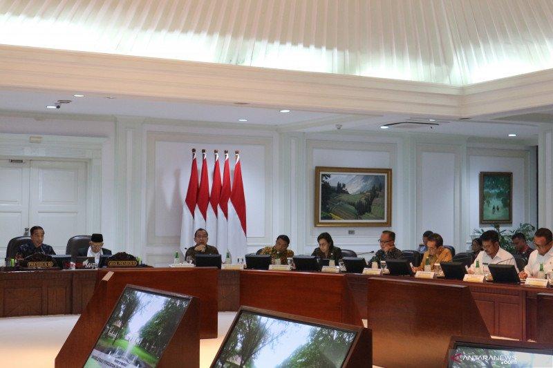 Presiden Jokowi berikan tiga catatan untuk pertanian dan perikanan