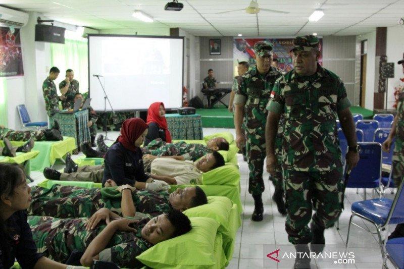 Kodam Cenderawasih gelar baksos peringati hari Juang TNI