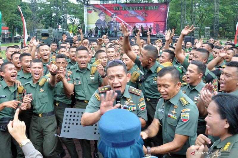 Kodam I Bukit Barisan sambut Hari Juang Kartika