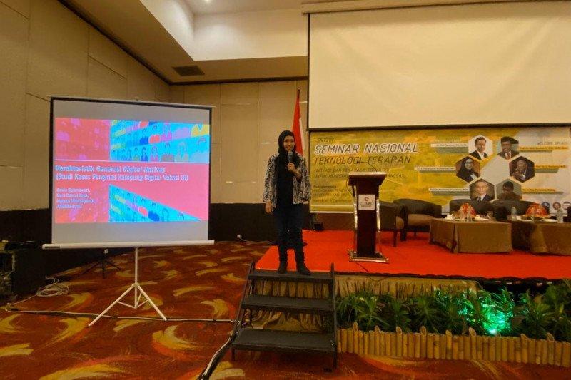 Peneliti Vokasi UI presentasikan karakter konsumsi media di masyarakat