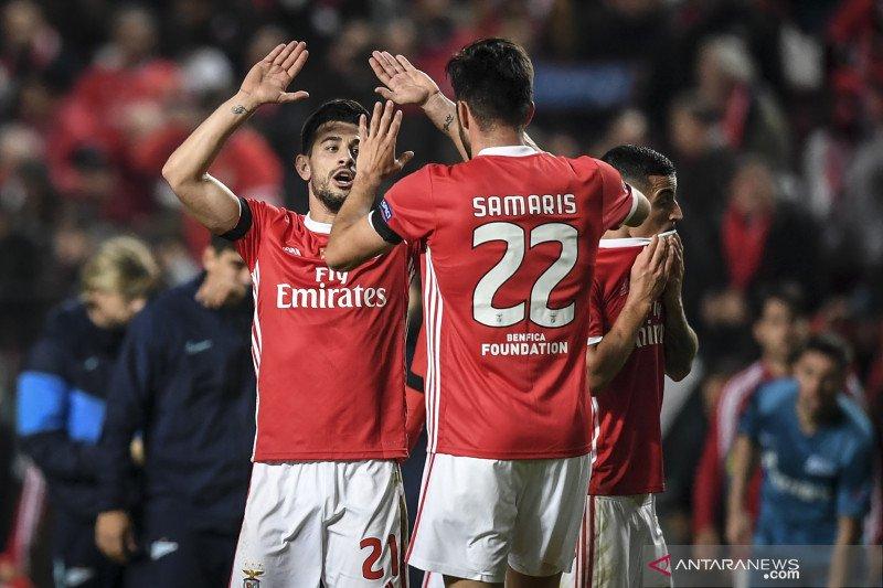 Benfica kunci tiket Liga Europa setelah taklukkan Zenit 3-0