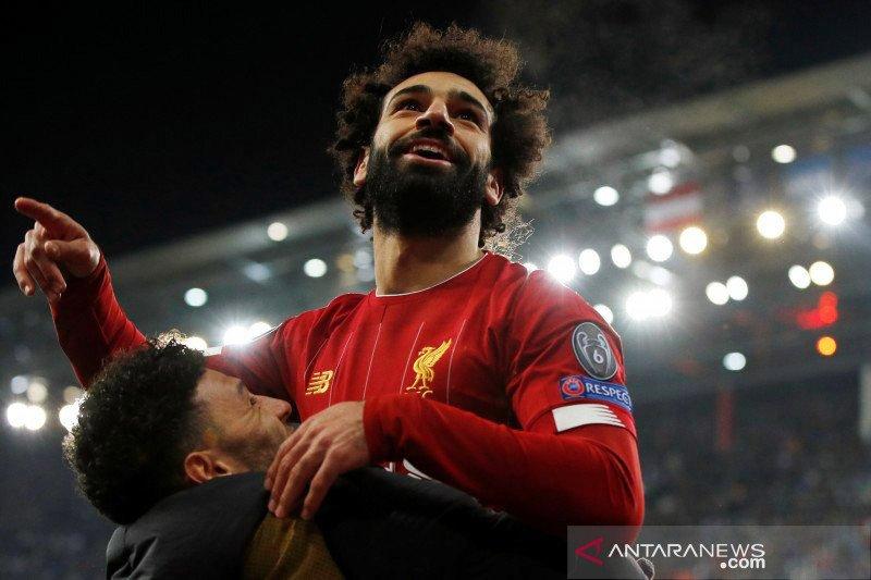 Gol sensasional Salah dapat sanjungan dari Klopp