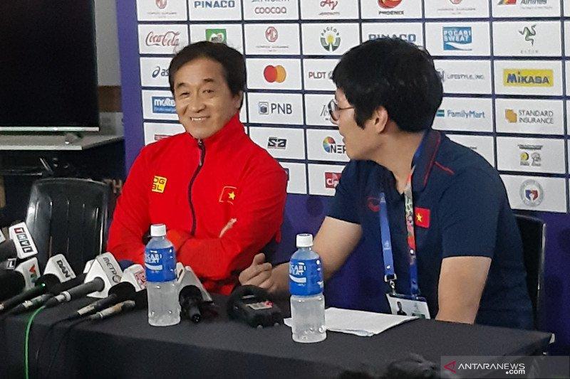 "Vietnam berulang-ulang latihan gol dari ""set piece"" sebelum menghadapi Indonesia"