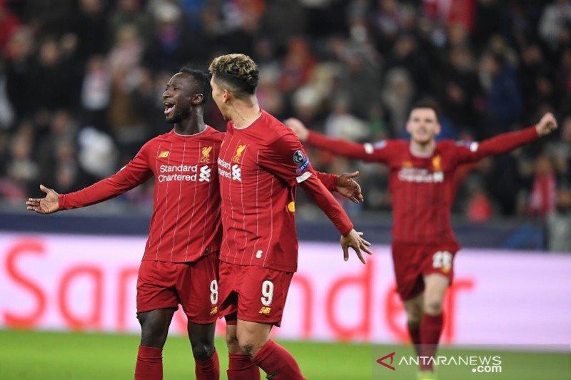 Liverpool pecundangi dan singkirkan Salzburg menuju 16 besar Liga Champion