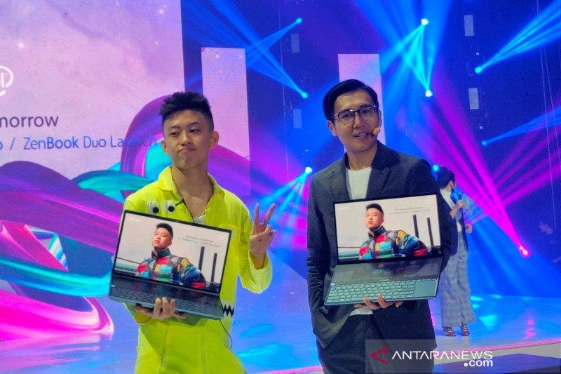 ASUS hadirkan laptop pertama di dunia dengan dua layar