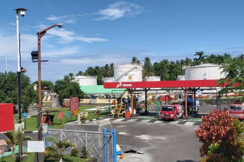 Pertamina pastikan penyaluran BBM di Labuha Maluku Utara sudah kembali normal