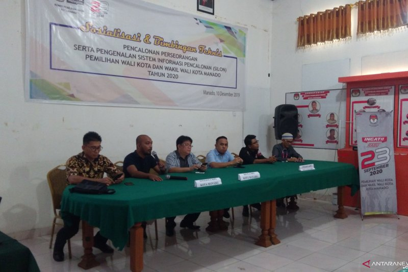 KPU Manado lakukan penguatan kelembagaan PKPU 18/2019