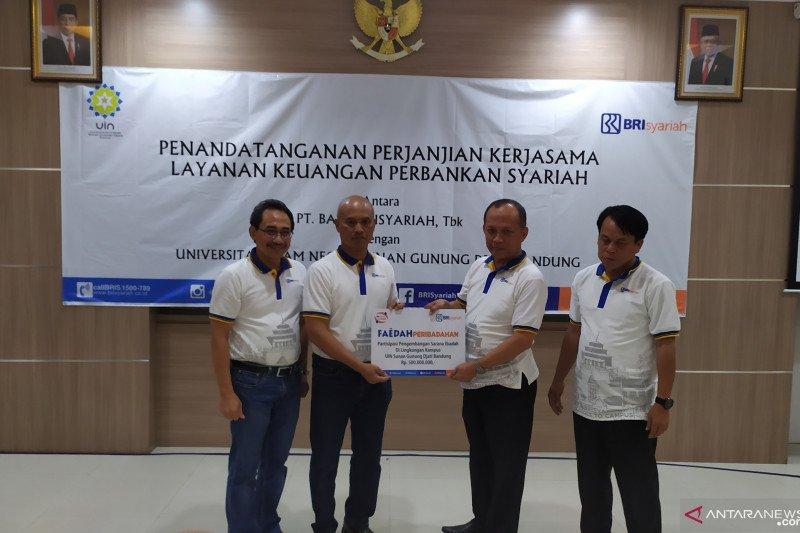 BRI Syariah salurkan CSR untuk pengembangan sarana masjid UIN SDG Bandung