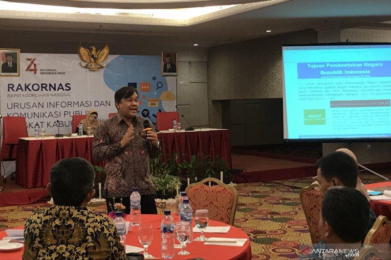 Kementerian Kominfo bagi urusan IKP dan APTIKA ke daerah