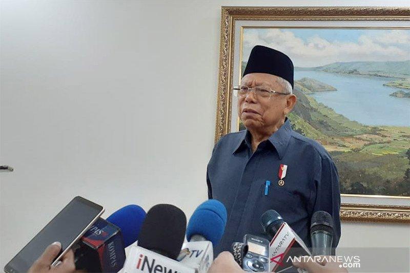 Wapres Ma'ruf: Khilafah tertolak di Indonesia