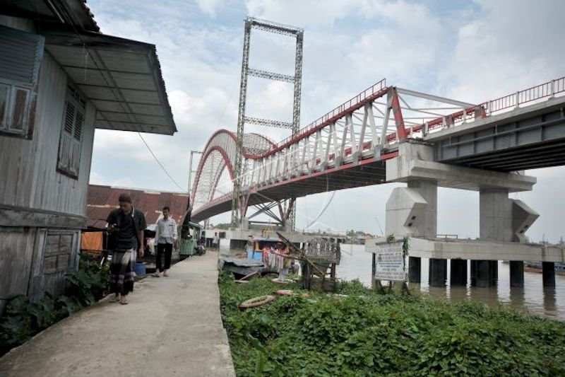 Jembatan Musi VI  target fungsional  2020