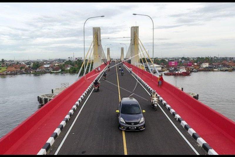 Pembebasan lahan  akses Jembatan Musi IV tertunda dua tahun