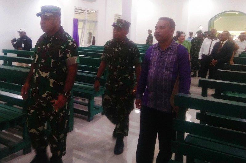 Aparat TNI-Polri bersinergi jaga keamanan Natal di Papua