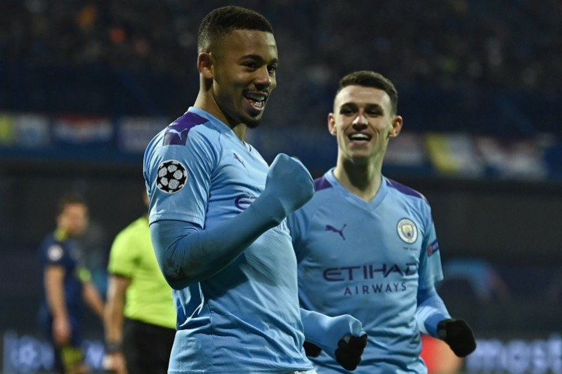 Jesus cetak trigol antar Manchester City lumat Dinamo Zagreb