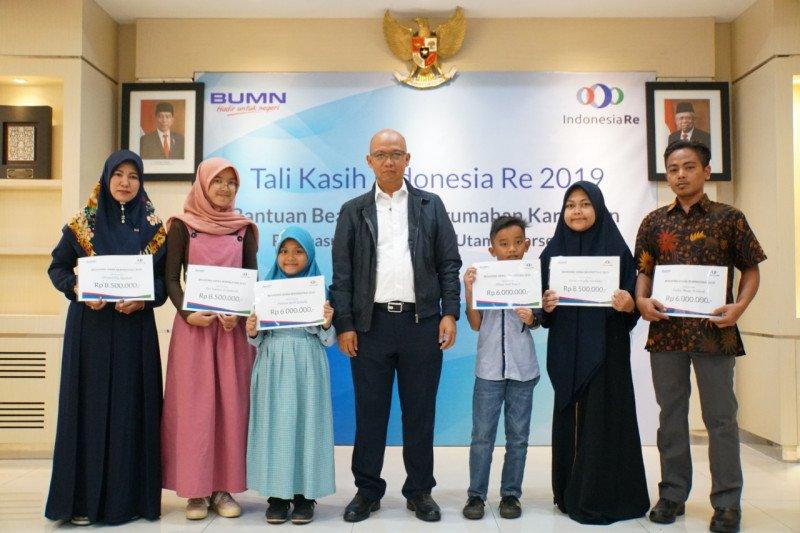 Lewat pendidikan, Indonesia Re dukung generasi muda jadi agen pembangun bangsa