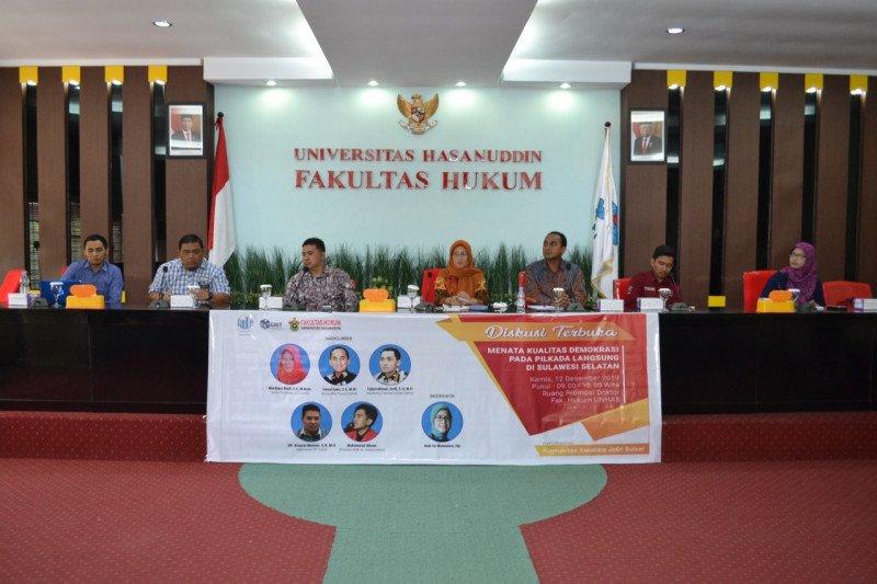 Akademisi Unhas : kualitas demokrasi dapat dilihat dari partisipasi pemilih