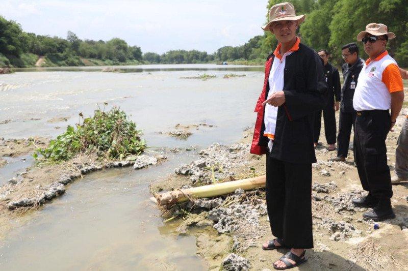Pencemaran Sungai Bengawan Solo di Blora sudah membaik