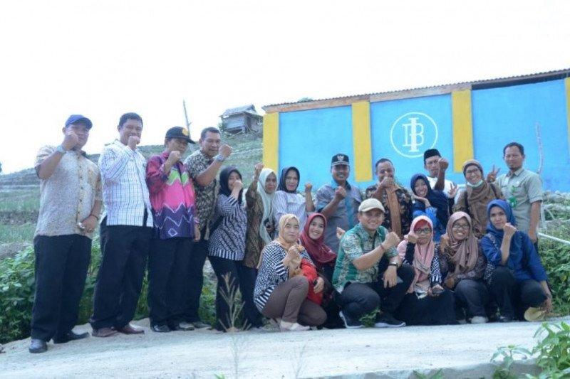 Bupati Majene resmikan embung bantuan Bank Indonesia Sulbar