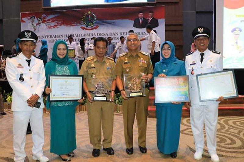 Lutim raih tiga penghargaan Lomba Desa/Kelurahan tingkat Sulsel