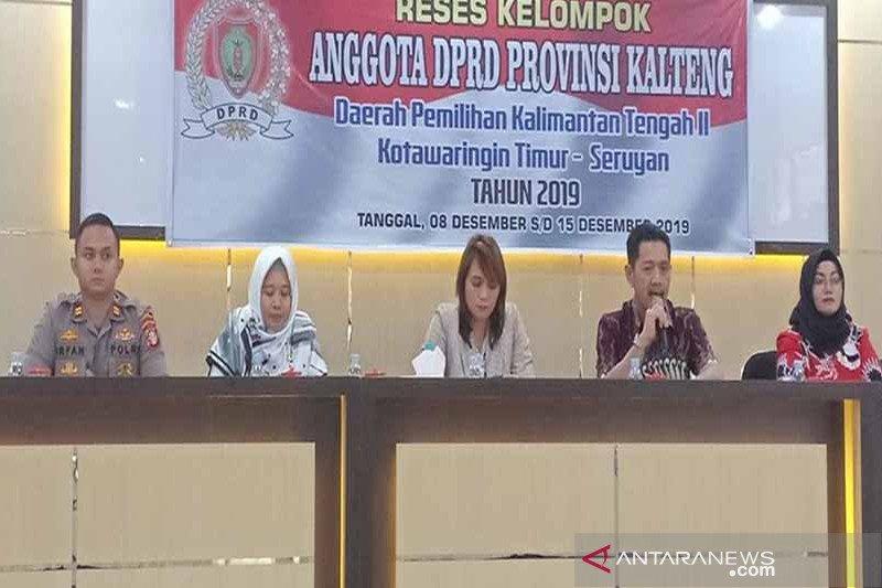 Legislator Kalteng minta Pemprov bantu perbaiki jalan antar desa