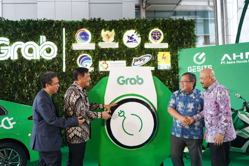 Grab to operate electric cars in Jakarta in January 2020