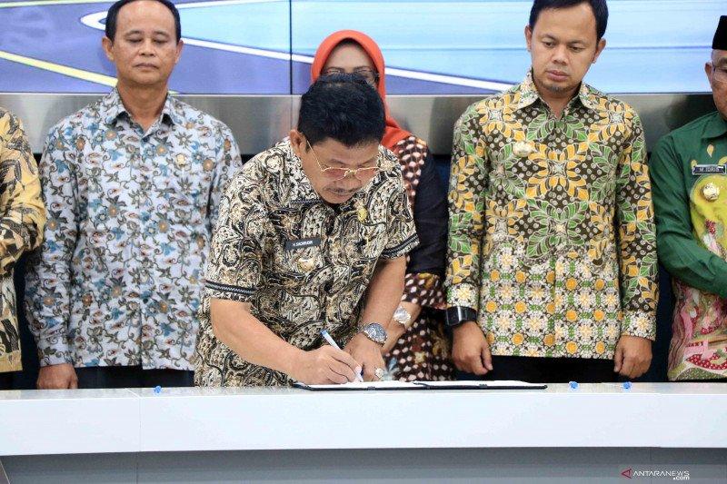 Pemkot Tangerang - BKSP kerja sama peningkatan udara bersih
