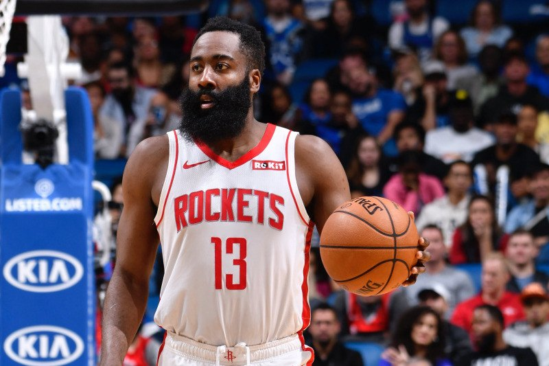 James Harden borong 57  poin saat Rockets hantam Magic