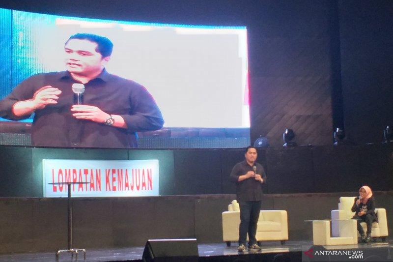 Erick Thohir berharap milenial miliki kompetensi untuk pimpin BUMN