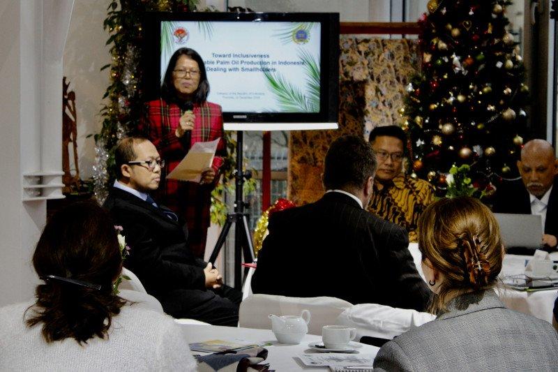 Kadin Indonesia-Slowakia dukung upaya sawit berkelanjutan