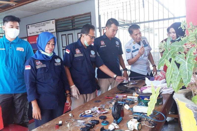 Kemenkumham Sulbar geledah Rutan Kabupaten Mamuju