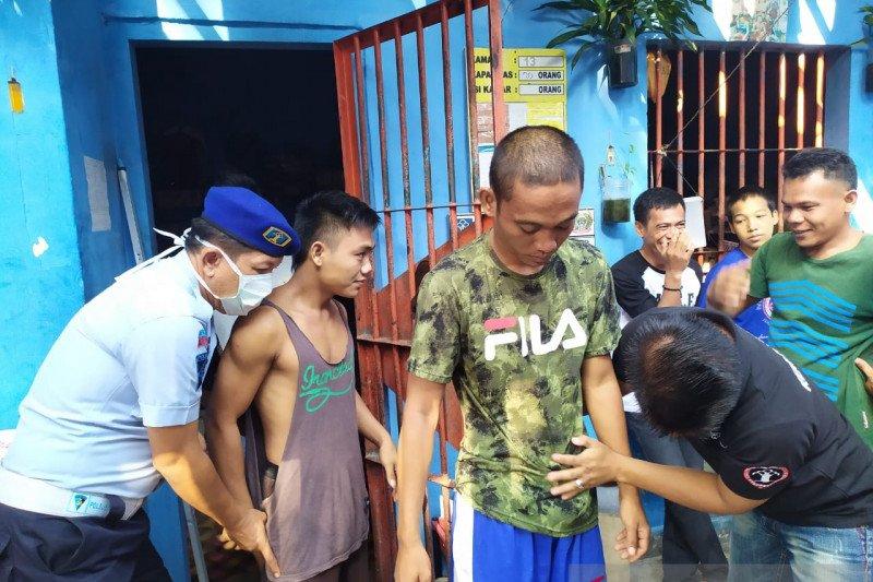 Rutan Baturaja razia  kamar warga binaan antisipasi peredaran narkoba