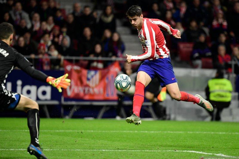 Atletico Madrid ke peringkat keempat usai kalahkan Osasuna 2-0