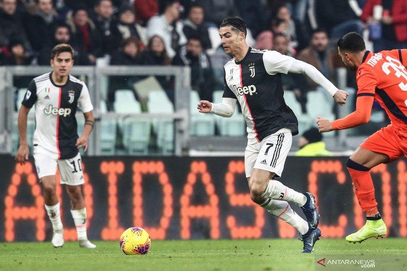 Kalahkan Udinese, Juventus rebut puncak klasemen