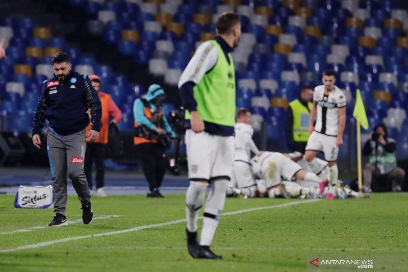 Parma rusak debut Gennaro Gatusso sebagai pelatih baru Napoli