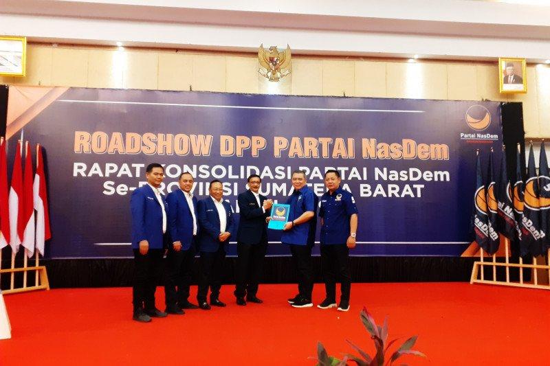 Hendra Joni sebut kinerja sebagai bupati yang bagus antar dirinya jadi Ketua DPW Nasdem