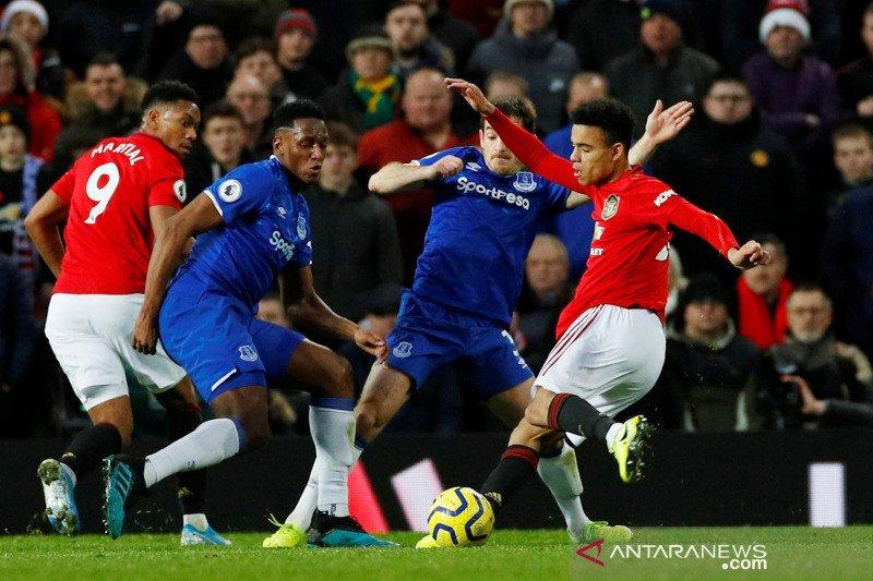 Greenwood selamatkan MU saat lawan Everton