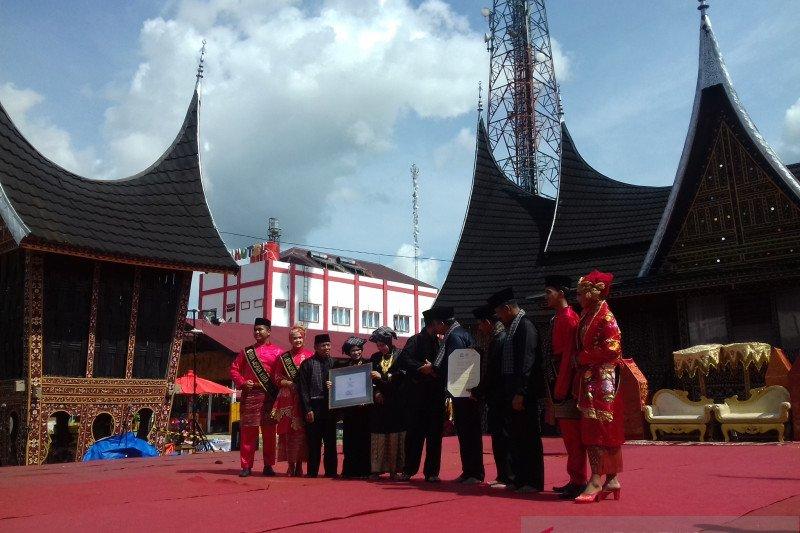"Pawai ""Arak Bako"" Kota Solok masuk warisan budaya tak benda oleh Kemendikbud"