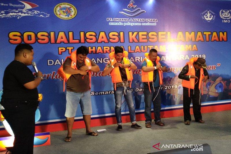 Peringatan Hari Nusantara  diisi sosialisasi keselamatan berlayar
