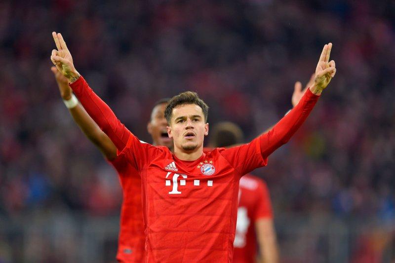 Trio gol Coutinho bawa Muenchen benamkan Bremen