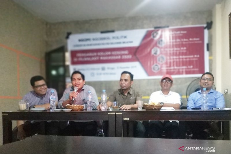 Diskusi politik bahas pengaruh kolom kosong pascapilkada Kota Makassar
