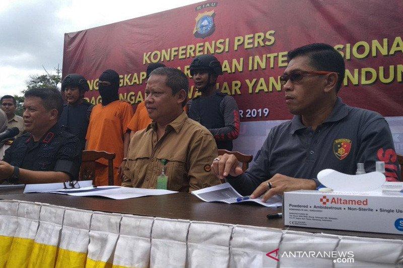 Riau gateways for int