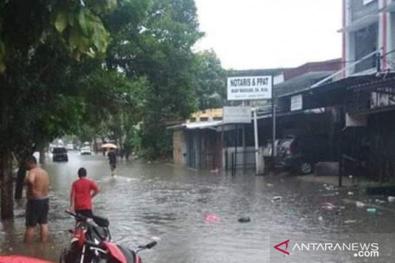 BPBD Babel siaga di 16 titik banjir Pangkalpinang