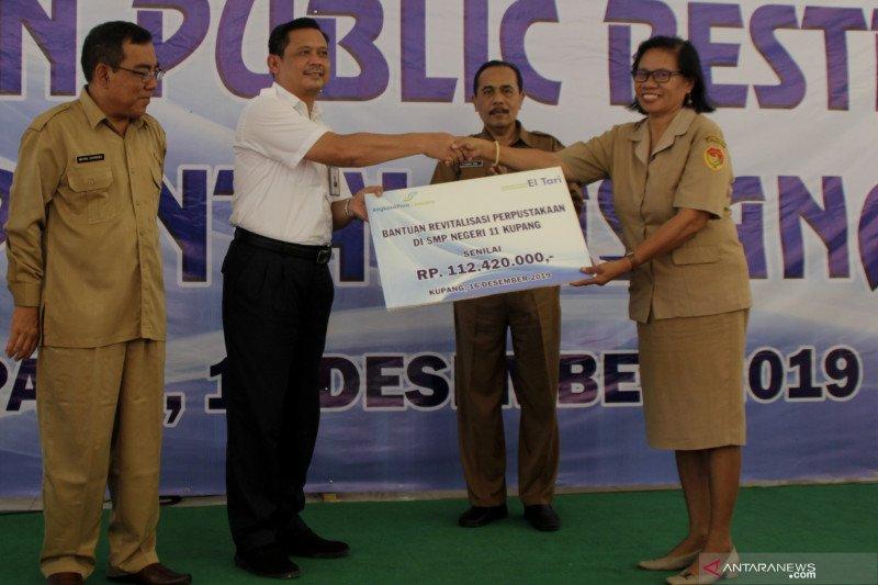 Perpustakaan SMPN 11 Kupang direvitalisasi