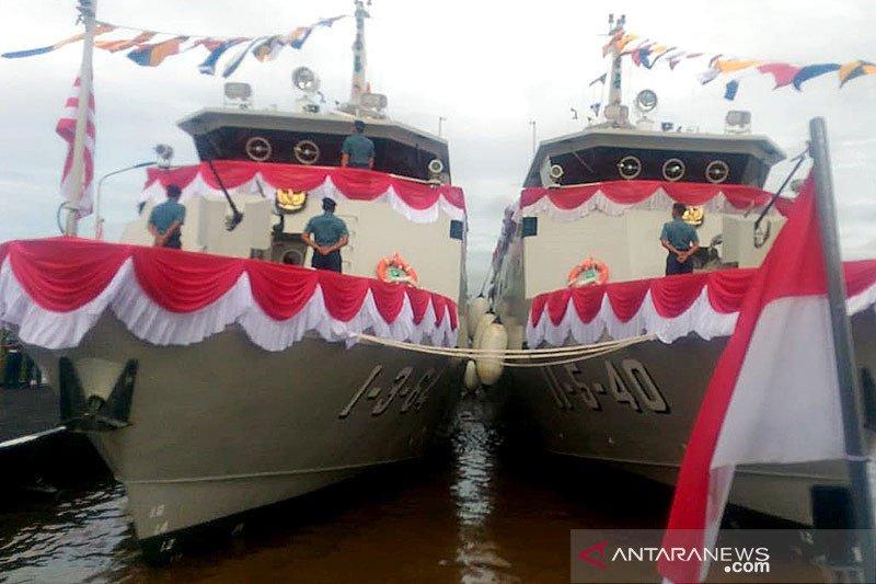 Lantamal XII Pontianak dapat tambahan dua kapal perang