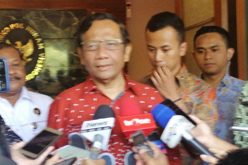 Bahas ketatanegaraan, pakar hukum Muhammadiyah temui Mahfud