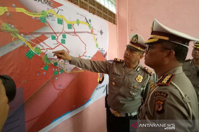 Polda Jabar kaji jalur rawan macet lintas Limbangan-Malangbong