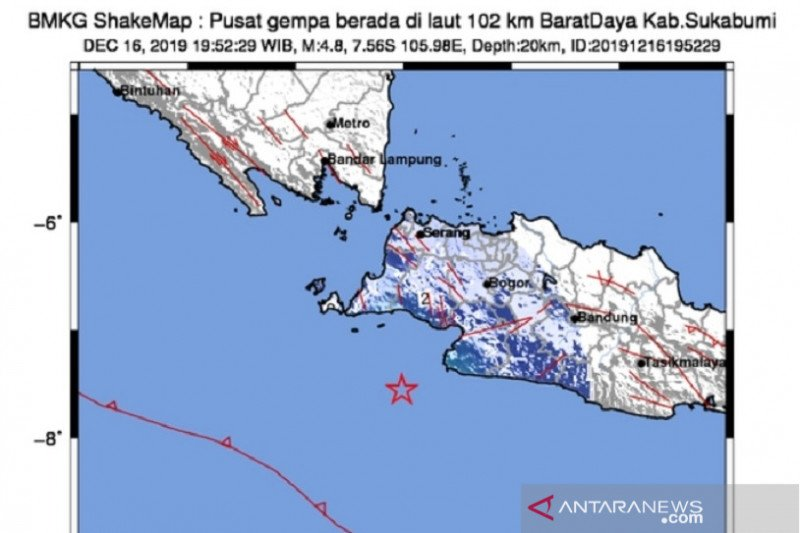 Magnitude 4.5 quake hits Pangandaran