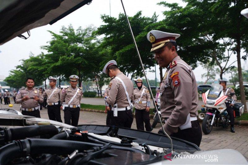 Polresta Tangerang periksa kelengkapan kendaraan jelang Operasi Lilin