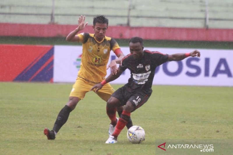 Liga 1, Persipura tundukkan Barito Putra 1-0