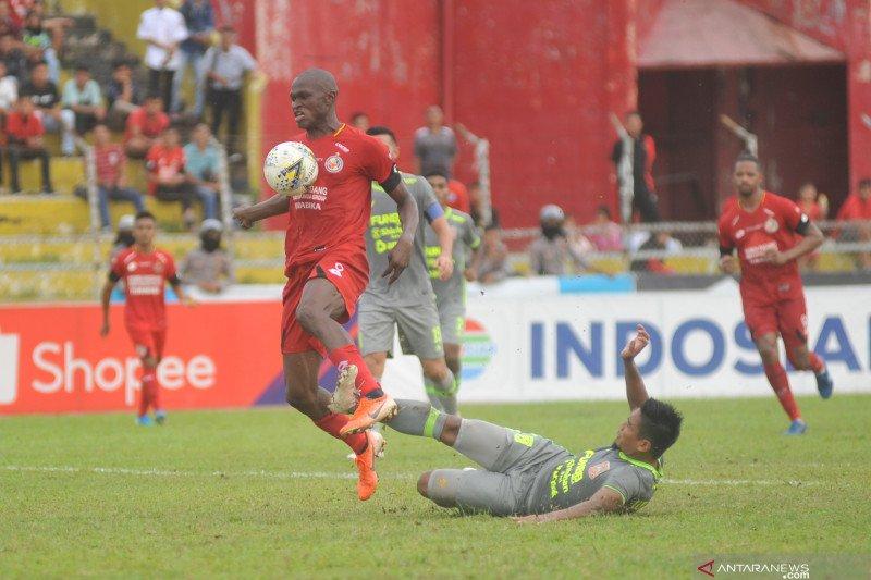 Tuan rumah Semen Padang ditahan imbang tamunya Borneo FC 1-1